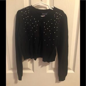 Black Jeweled cardigan